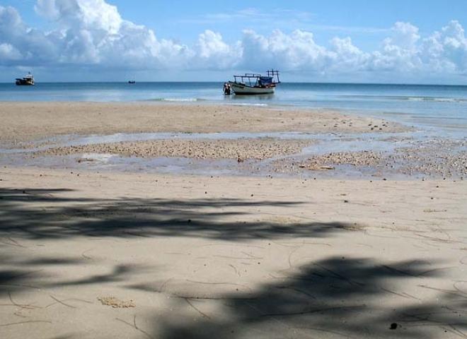Plage en océan Pacifique – Cambodge