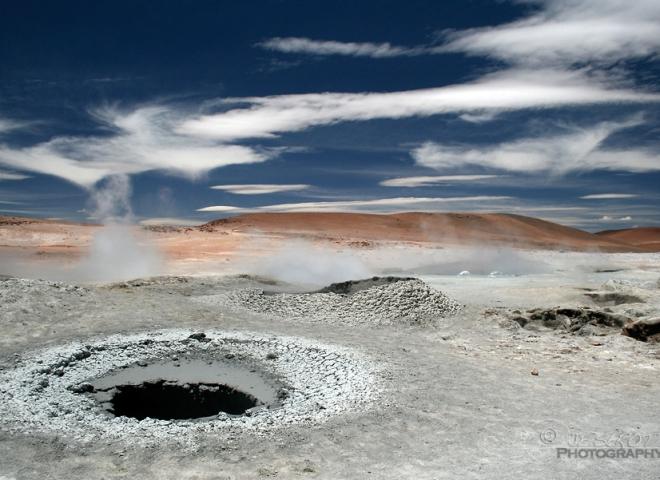Geysers, Sol de Mañana, Sud Lipez – Bolivie