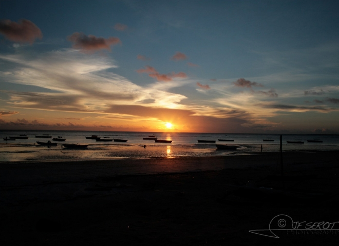 Couché de soleil à Zanzibar – Tanzanie