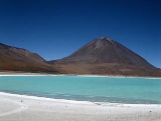 Laguna azul – Bolivie