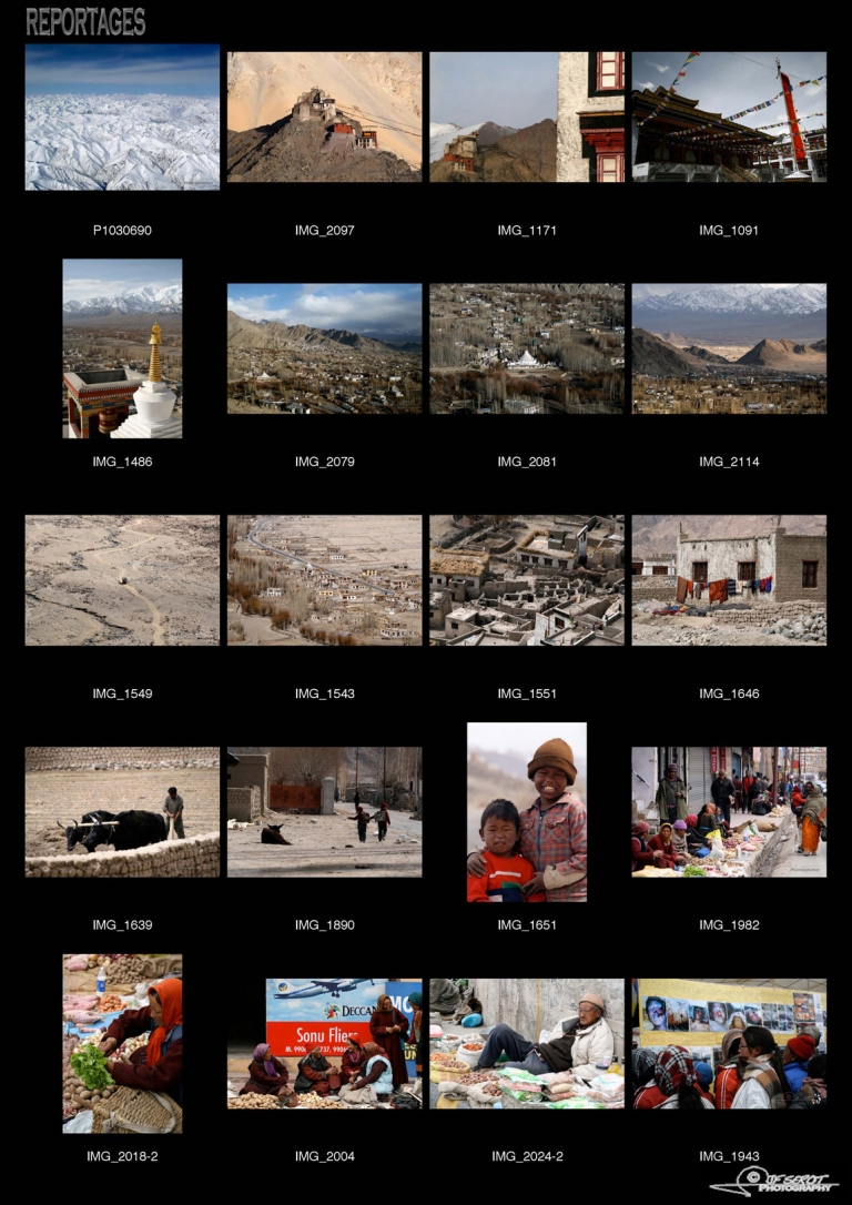 Leh au Ladakh, Himalaya – Inde