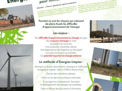Energias Limpias : Promouvoir les énergies propres pour limiter le changement climatique