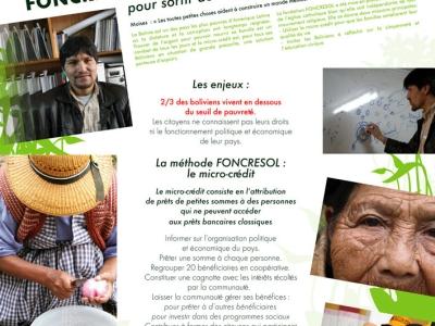 Moises Foncresol : Le micro-crédit, outil pour sortir de la précarité