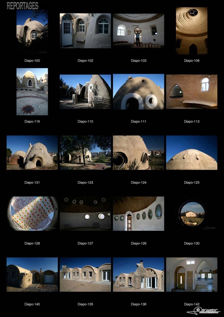 Nader Khalili et Cal Earth : Les maisons Superadobe, une révolution architecturale