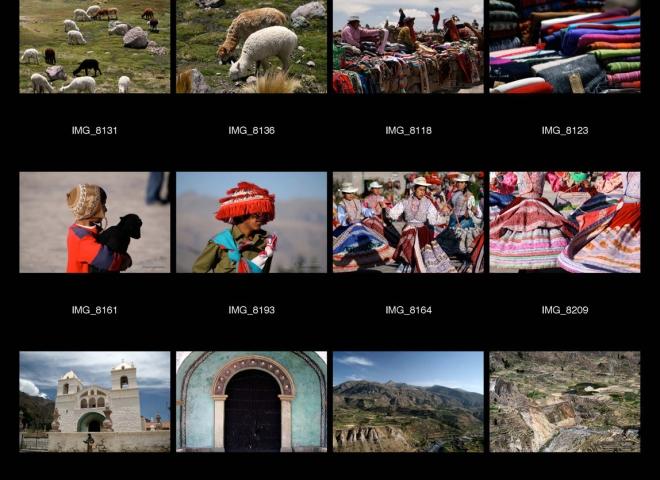 Héritages incas, Canyon Colca – Pérou