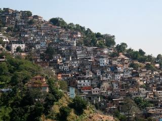 Favela, Rio de Janeiro – Brésil