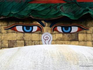 Bouddha en éveil – Népal