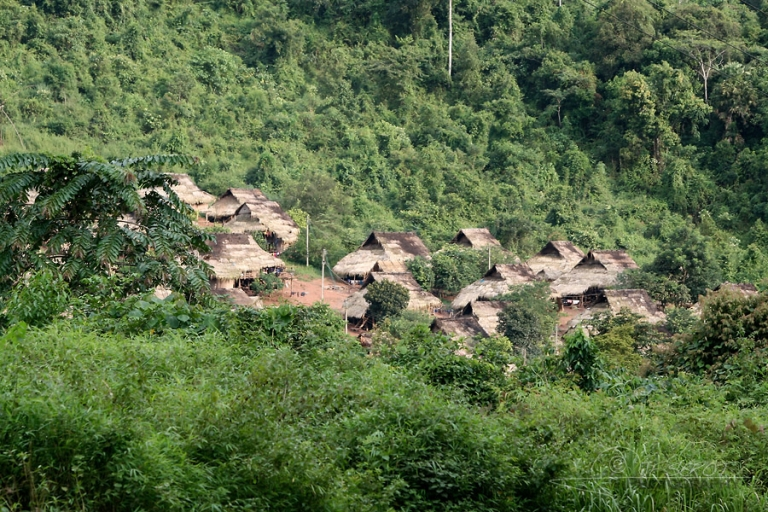 Village traditionnel, Luang Namtha – Laos