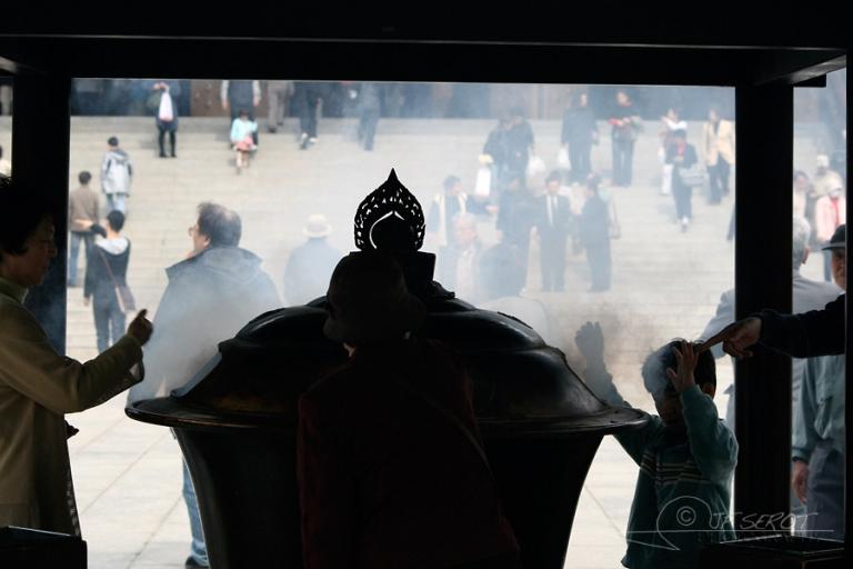 Purification par l'encens – Japon