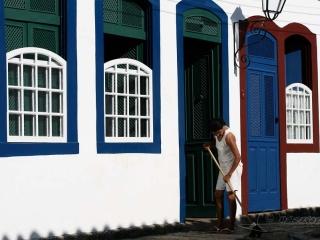 Balayer devant sa porte – Brésil