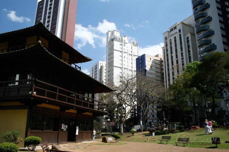 Parc urbain, Curitiba – Brésil