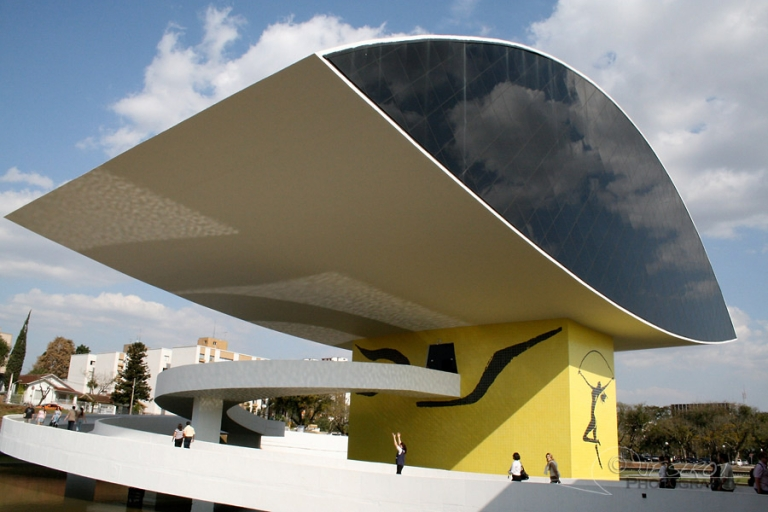 Museé Oscar Niemeyer, Curitiba – Brésil