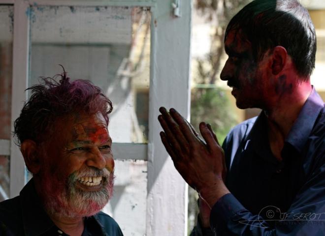 Namasté en couleurs – Inde