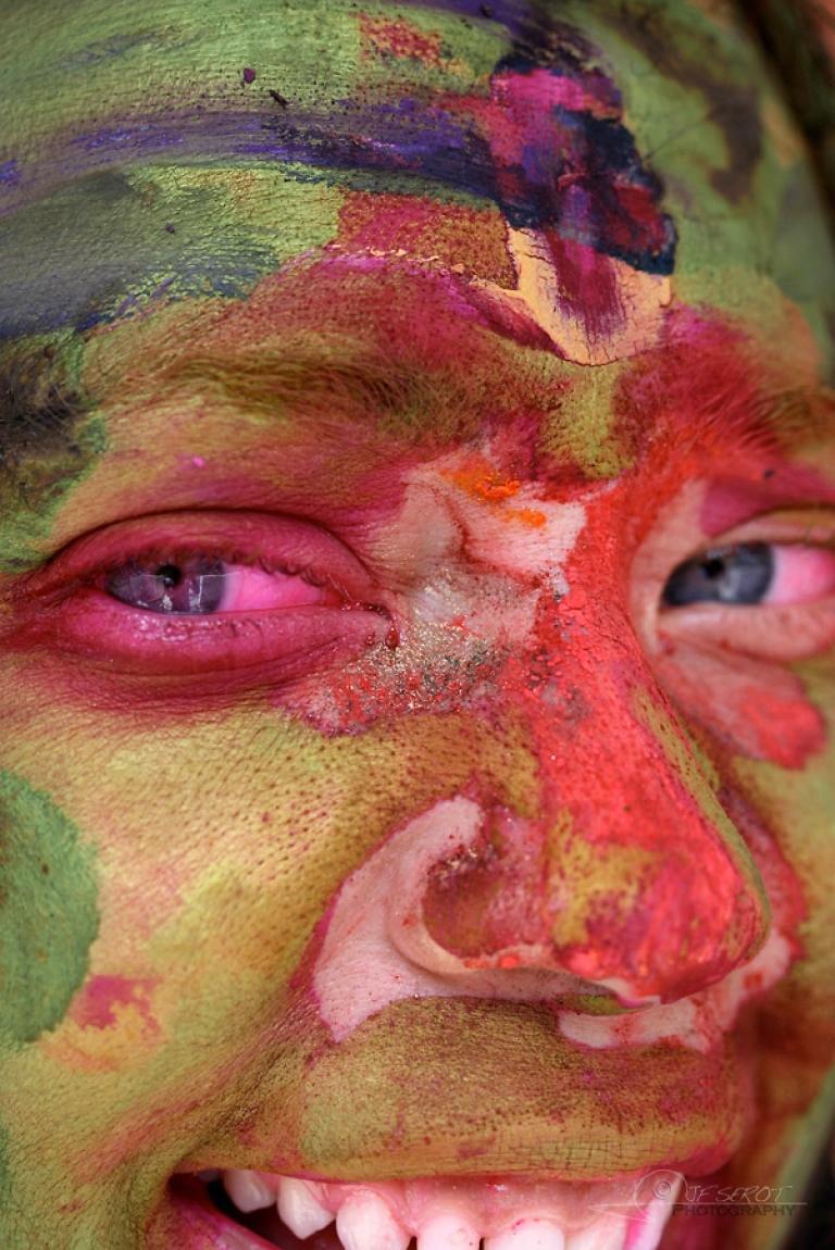Holî, fête des couleurs – Inde