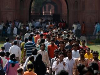 La foule – Inde