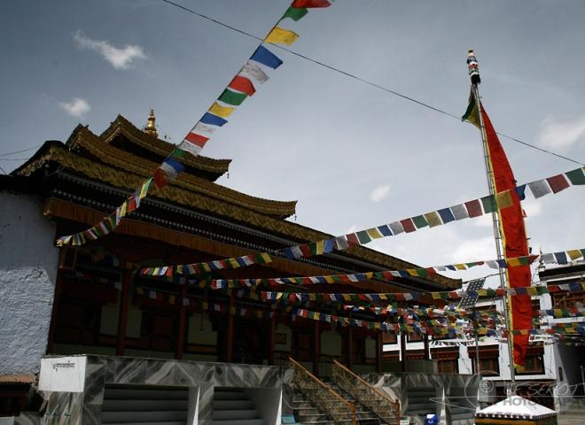 Temple bouddhiste, Leh – Inde