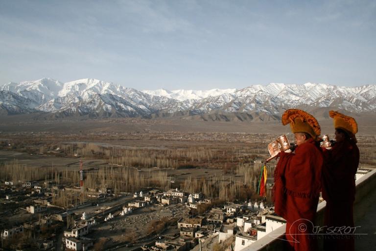 Appel à la prière, Ladakh – Inde