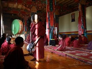Butter tea, Monastère de Tiksé – Inde