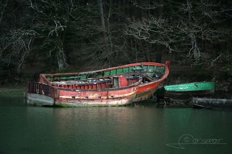 Cimetière à bateaux – France