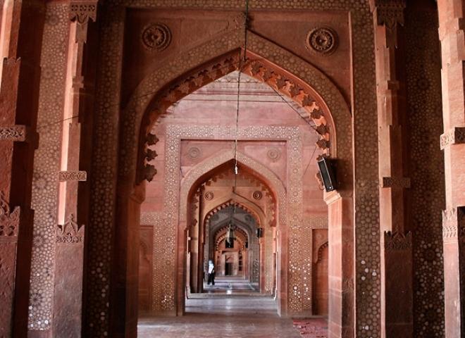 Arches, Fort rouge d'Āgrā – Inde