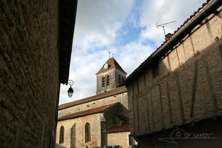 Eglise Saint-Jean-Baptiste, Nanteuil-en-Vallée – France
