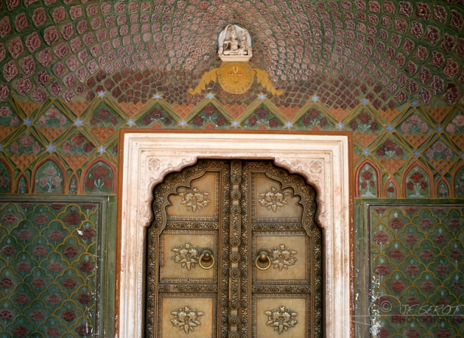 Porte du City Palace – Inde