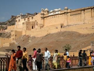 Visite d'Amer Fort – Inde
