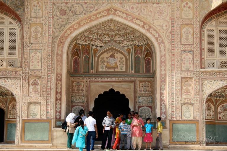 Famille à Amer Fort – Inde