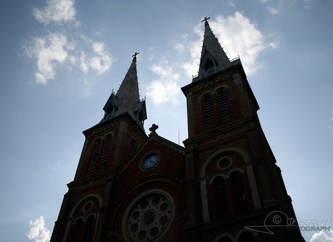 Cathédrale Notre-Dame de Saïgon – Viêt Nam