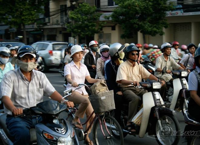 Faire du vélo – Viêt Nam