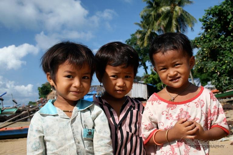 Fillettes – Cambodge