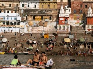 Balade en barque – Inde