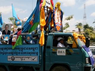 Campagne électorale – Cambodge