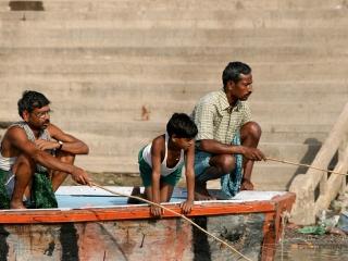 Pêche à la ligne – Inde