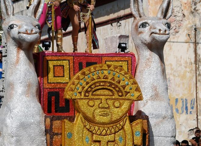 Char du carnaval – Mexique