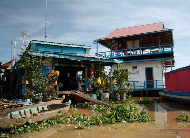 Tonlé Sap – Cambodge