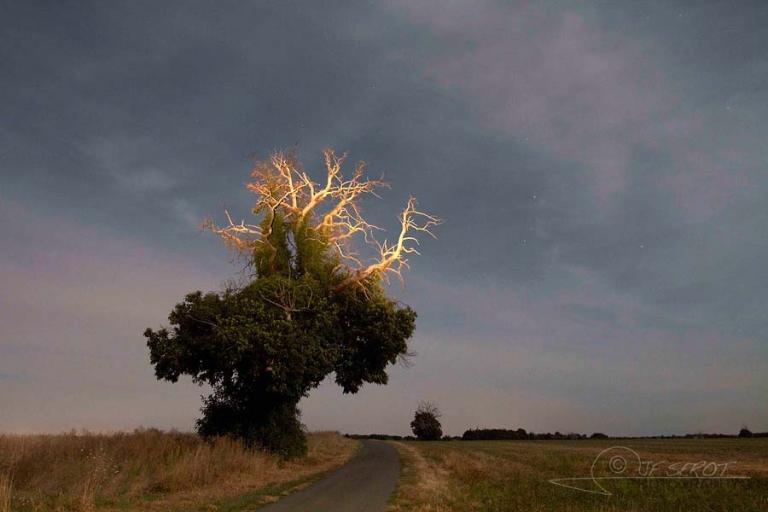 Rayonnement lunaire – France