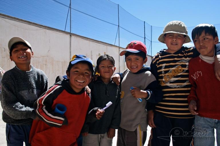 Se brosser les dents – Bolivie