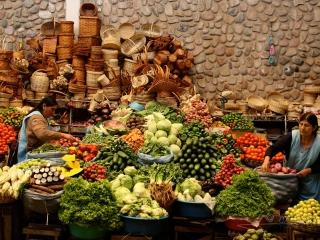 Marché de Sucre – Bolivie