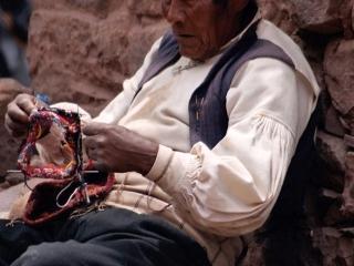 Tricoter à Taquilé – Pérou