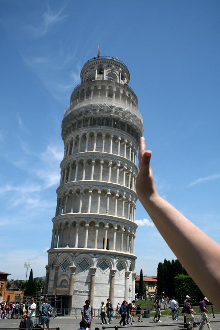 Redresser la tour de Pise – Italie
