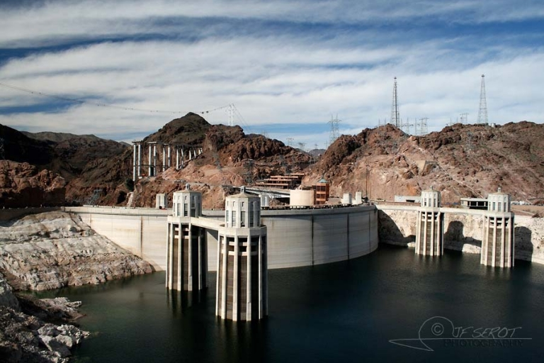Barrage Hoover au lac Mead, Las Vegas –  Nevada