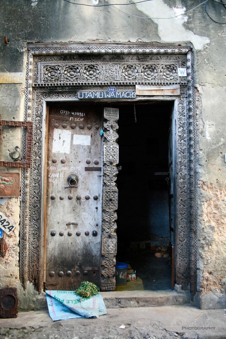 Porte, Stone Town – Tanzanie