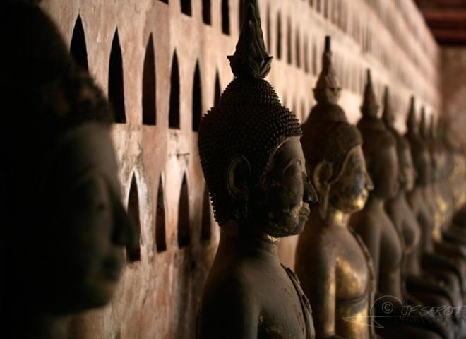 Temple à bouddhas – Laos