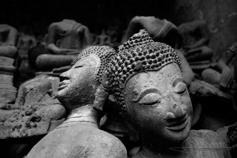 Statues bouddhistes – Laos