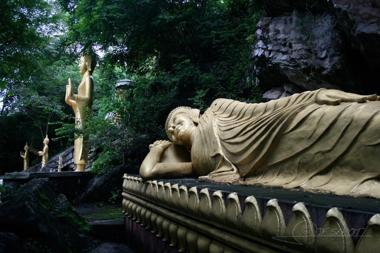 Bouddhas, Luang Prabang – Laos