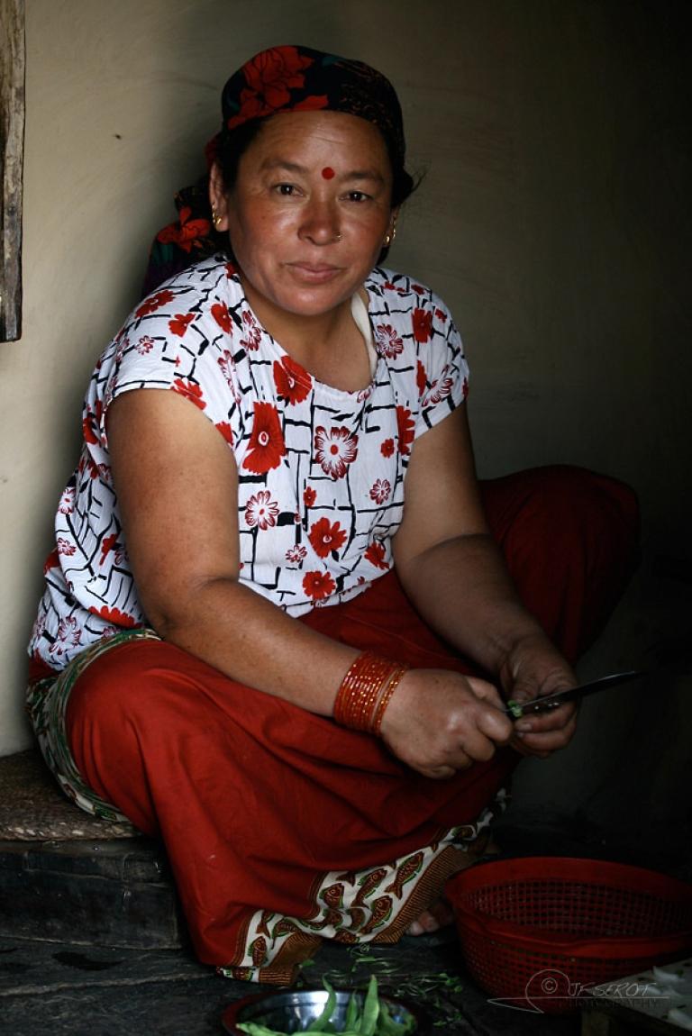Femme Gurung – Népal