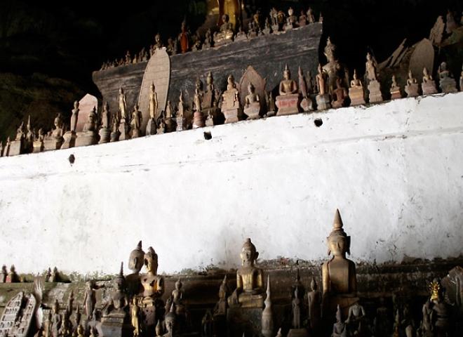 Grottes à bouddhas de Pak Ou – Laos