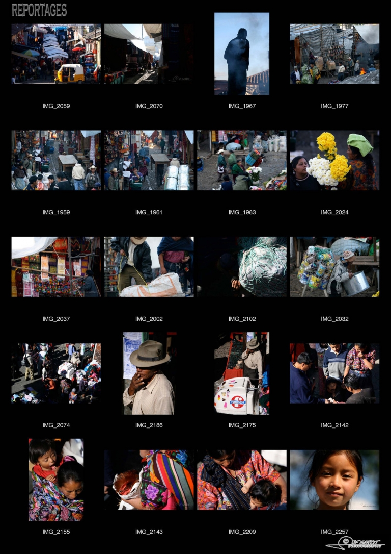 Le marché de Chichicastenango – Guatemala