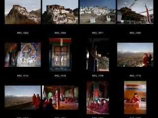 La pûjâ au monastère de Tiksé, Ladakh – Inde